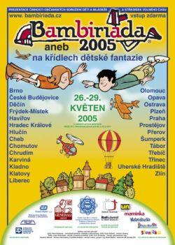 Plak�t BAMBIRI�DA 2005 - v�echna m�sta